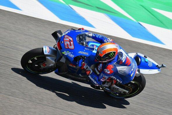 Alex Rins kämpfte sich im zweiten Jerez-Rennen unter Schmerzen ins Ziel - Foto: MotoGP.com