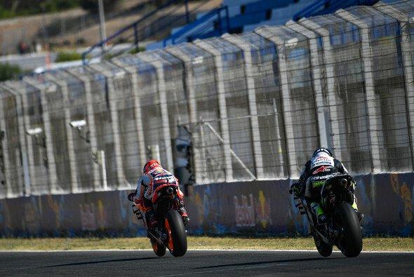 Marquez und Crutchlow kämpften am Samstag mit ihren Verletzungen - Foto: MotoGP.com