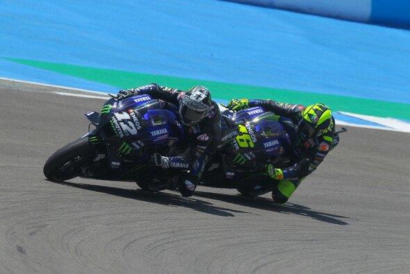 Vinales und Rossi: Haben sie Quartararo die Arbeit erleichtert? - Foto: MotoGP.com