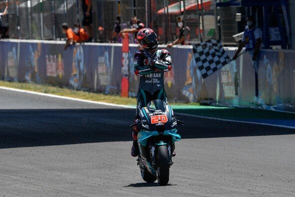 Grund zum Feiern: Fabio Quartararo schnürte in Jerez einen Doppelpack - Foto: MotoGP.com