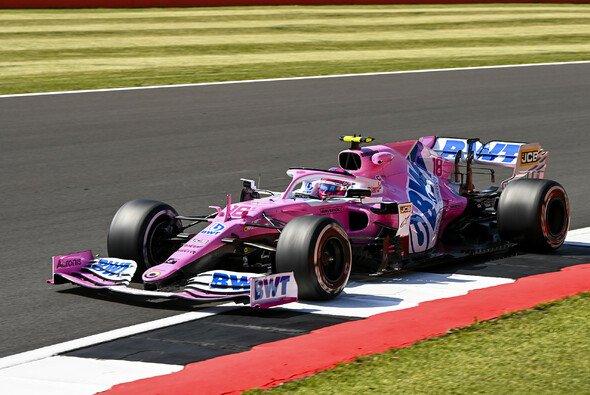 Lance Stroll fuhr im 2. Freien Training der Formel 1 in Silverstone überraschend die Bestzeit - Foto: LAT Images