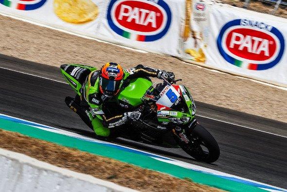 Philipp Öttl wurde Dritter im ersten Supersport-Lauf in Jerez - Foto: WorldSBK