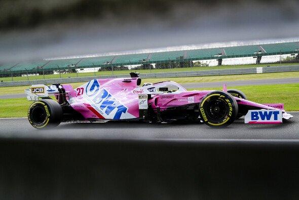 Nico Hülkenberg hatte im Formel-1-Qualifying von Silverstone ein verhaltenes Comeback - Foto: LAT Images