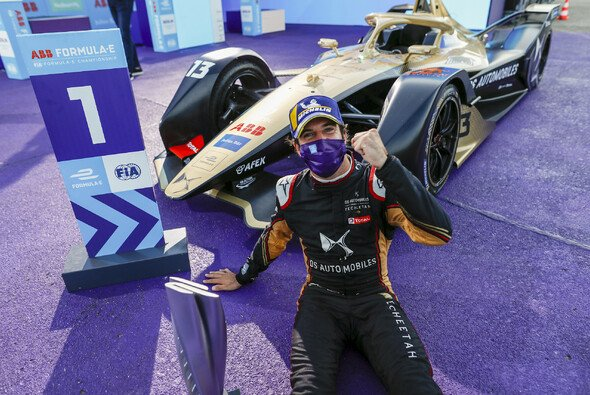 Vorzeitig Meister in der Formel E: der doppelte Berlin-Sieger Antonio Felix da Costa - Foto: LAT Images