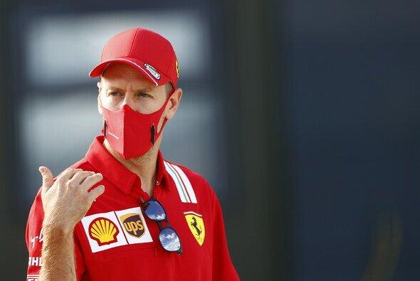 Sebastian Vettel kann den Gerüchten um seine Person nicht besonders viel abgewinnen - Foto: LAT Images