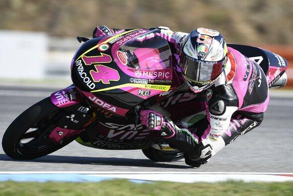 Tony Arbolino ist Moto3-Polesitter in Barcelona - Foto: LAT Images