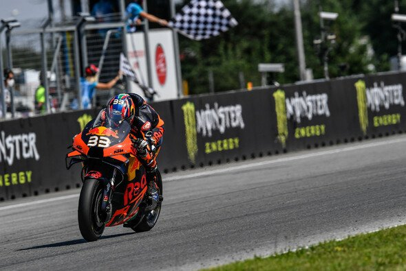 Brad Binder erlöste KTM in Brünn - Foto: MotoGP