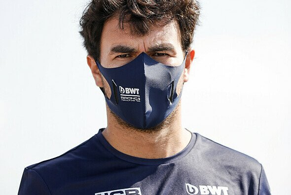 Sergio Perez ist in Barcelona nach zwei Wochen Corona-Quarantäne zurück in der Formel 1 - Foto: LAT Images