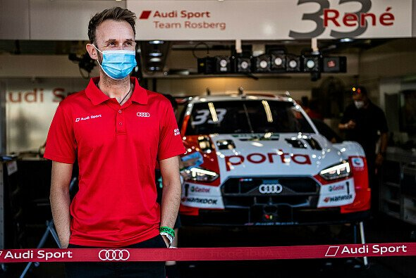 Rene Rast fällt nachträglich vom ersten auf den dritten Platz zurück - Foto: Audi Communications Motorsport