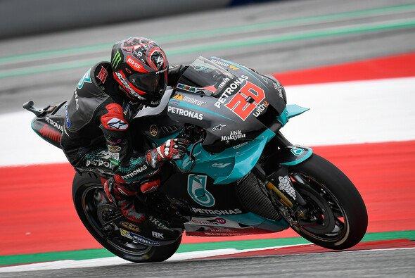 Fabio Quartararo testete Yamahas neues System - Foto: MotoGP.com