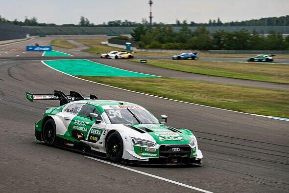 An diesem Wochenende ist die DTM zum zweiten Mal in Folge auf dem Lausitzring zu Gast - Foto: Audi