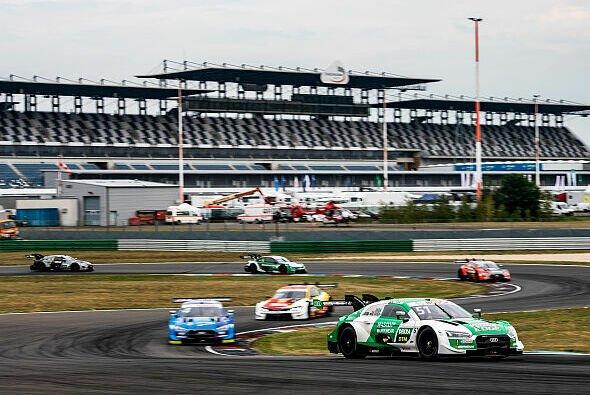 Nico Müller verpasst auf dem Lausitzring den vierten Saisonsieg in Folge haarscharf - Foto: Audi