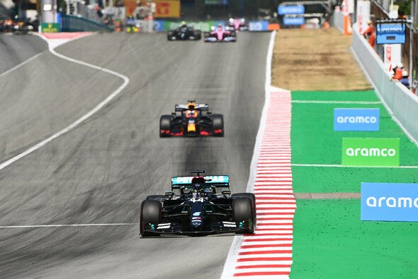 Lewis Hamilton dominierte den Spanien GP 2020 vom Start bis ins Ziel - Foto: LAT Images