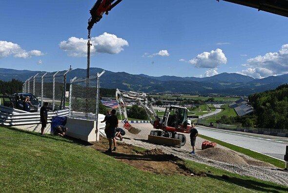 Die Fangzäune in Turn 3 wurden verlängert - Foto: GP-Fever.de/Steve Wobser