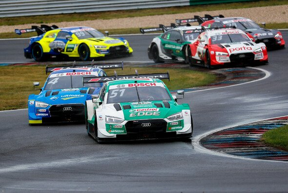Nico Müller verpasst seinen vierten Saisonsieg auf dem Lausitzring - Foto: Audi