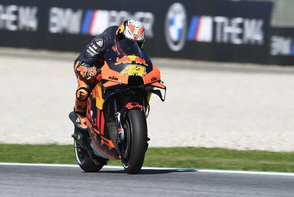 Erstmals steht eine KTM in der MotoGP auf Pole Position - Foto: LAT Images
