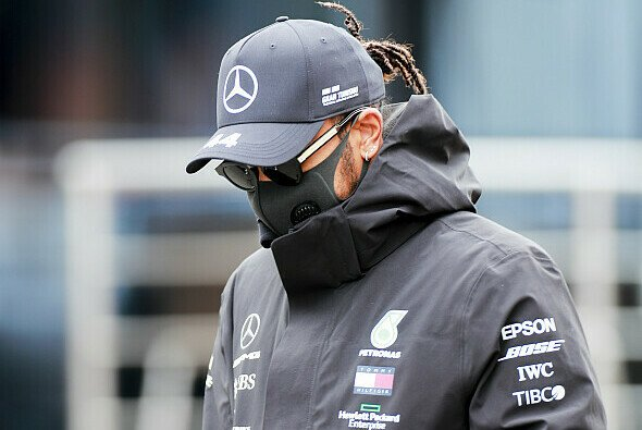 Lewis Hamilton droht in der Formel-1-Saison 2020 eine Rennsperre - Foto: LAT Images