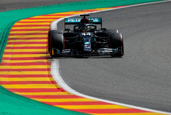 Mercedes W11 in Spa - Foto: LAT Images