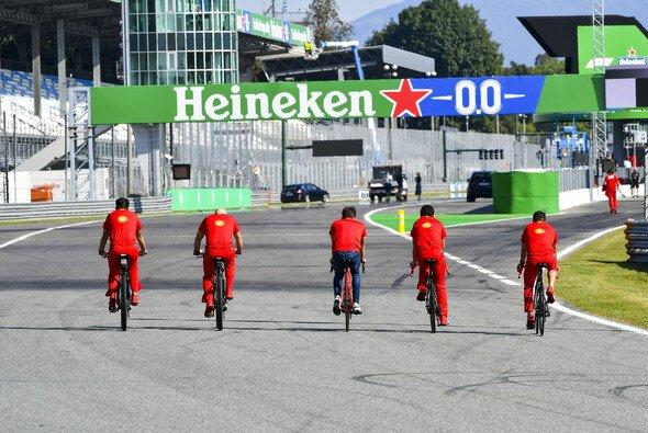 Ferrari rüstet beim Heimrennen in Monza auf: Bike statt SF1000 - Foto: LAT Images