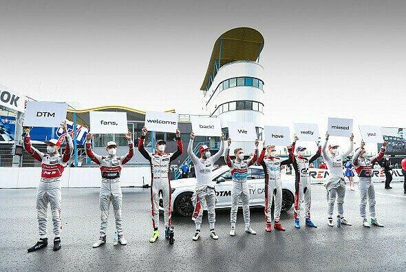 Fans können die DTM wieder vor Ort miterleben - Foto: Audi Communications Motorsport
