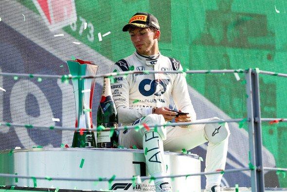 Am vergangenen Wochenende feierte Pierre Gasly in Monza seinen ersten Formel-1-Sieg - Foto: LAT Images