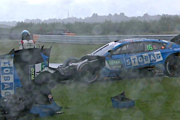 Fabio Scherer hat in seiner DTM-Debütsaison noch keinen Punkt erzielt - Foto: DTM/Screenshot