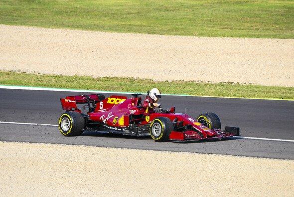 Ferrari-Pilot Sebastian Vettel erlebte in Mugello einen durchwachsenen Trainingsfreitag - Foto: LAT Images