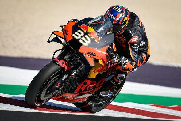 Brad Binder setzte sich überraschend an die Spitze - Foto: MotoGP.com