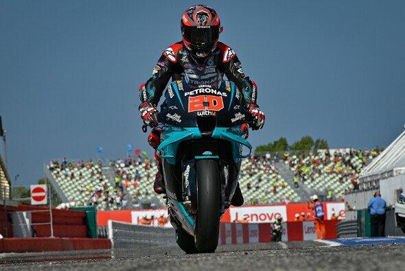 Fabio Quartararo scheint sein Sturz am Sonntag nicht gebremst zu haben - Foto: MotoGP.com