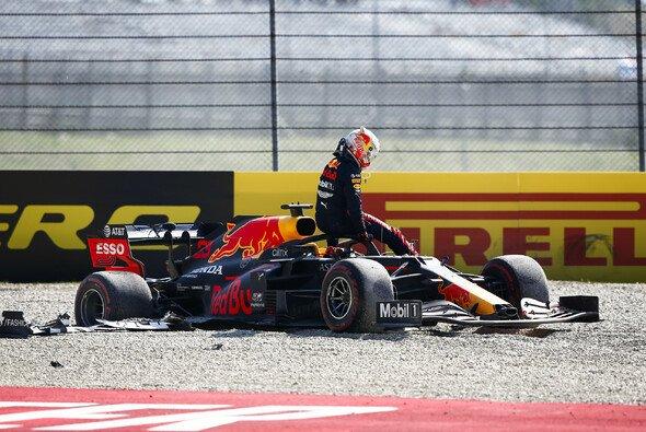 In Mugello schied Max Verstappen nach einer Kollision aus - Foto: LAT Images