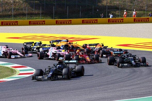 Drei Mal wurde beim Formel-1-Rennen in Mugello stehend gestartet - Foto: LAT Images