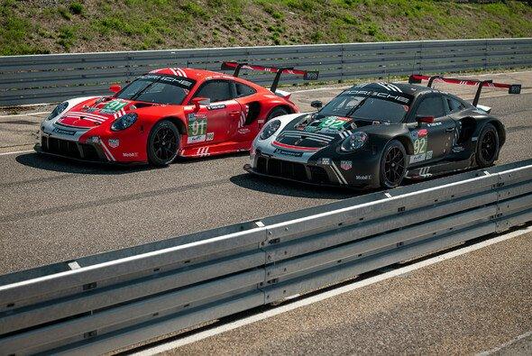 Porsche geht in diesem Jahr mit zwei besonderen Lackierungen bei den 24 Stunden von Le Mans an den Start - Foto: Porsche AG