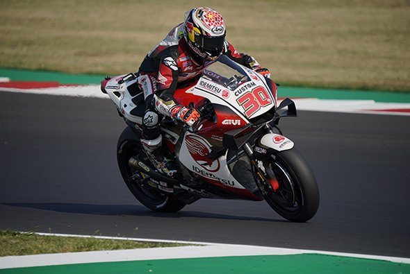LCR-Pilot Takaaki Nakagami war am Trainings-Freitag in Misano schnellster Honda-Pilot - Foto: LCR Honda