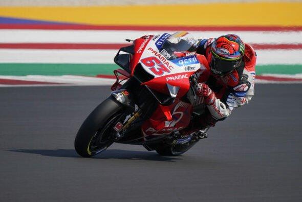 Francesco Bagnaia war der schnellste Mann im 3. Training - Foto: Pramac