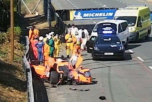 IDEC hatte im 2. Training gleich zwei Ausfälle nach Unfällen zu beklagen - Foto: ACO/Screenshot
