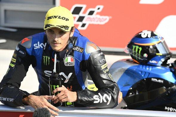 Luca Marini konnte sich die Pole Position schnappen - Foto: LAT Images