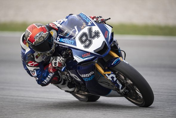 Jonas Folger zeigt vom letzten Startplatz eine gute Leistung - Foto: Yamaha Racing