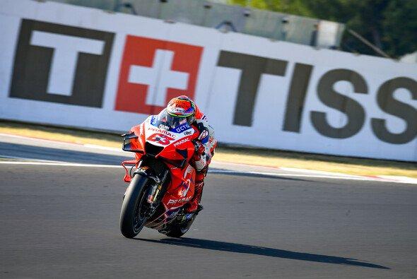 Francesco Bagnaia stürzte sieben Runden vor Schluss - Foto: MotoGP.com