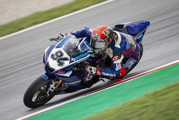 Jonas Folger will sich in Estoril für 2021 bewerben - Foto: Yamaha Racing