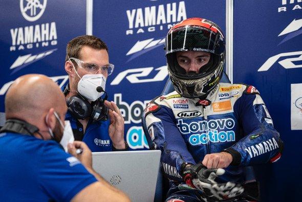 Jonas Folgers Chancen auf einen WSBK-Platz 2021 schwinden - Foto: Yamaha Racing