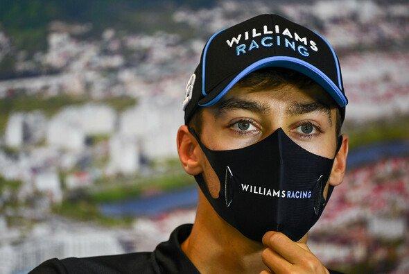 George Russell sieht sein angeblich wackeldes Williams-Cockpit nur als Druckmittel des Perez-Lagers gegenüber Red Bull - Foto: LAT Images