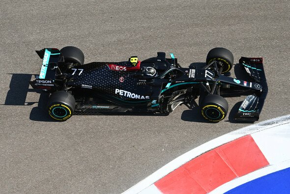 Valtteri Bottas fuhr im 1. Freien Training der Formel 1 in Sotschi die Bestzeit - Foto: LAT Images