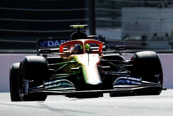 McLarens neue Nase bleibt auch in Sotschi kamerascheu - Foto: LAT Images