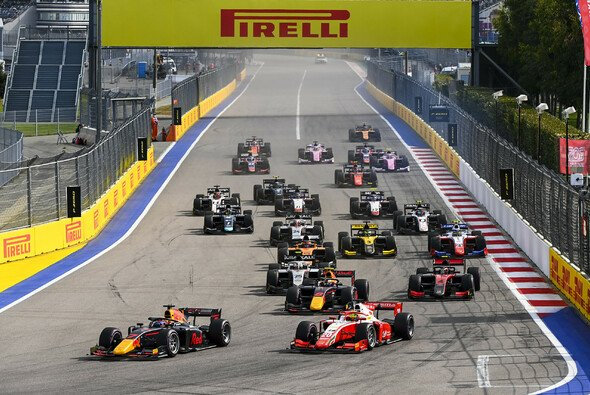Die Formel 2 ist in Sotschi wieder im Rahmenprogramm mit dabei - Foto: LAT Images