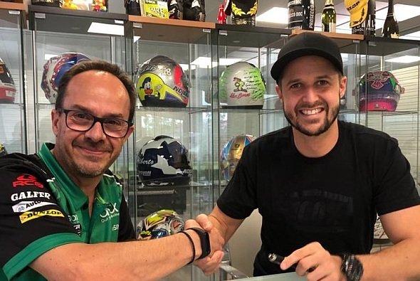 Tom Lüthi dockt bei SAG Racing an - Foto: Tom Lüthi
