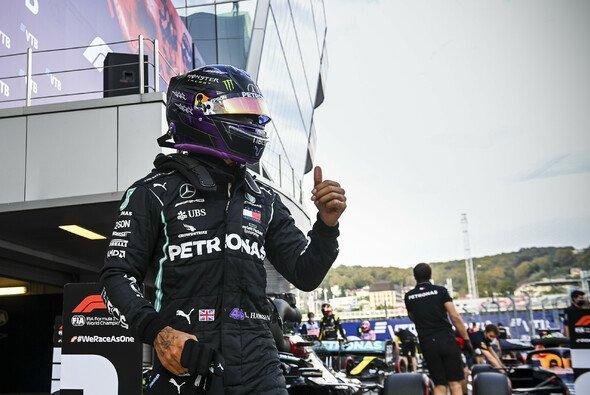 Lewis Hamilton war 2020 im Qualifying die Benchmark - Foto: LAT Images