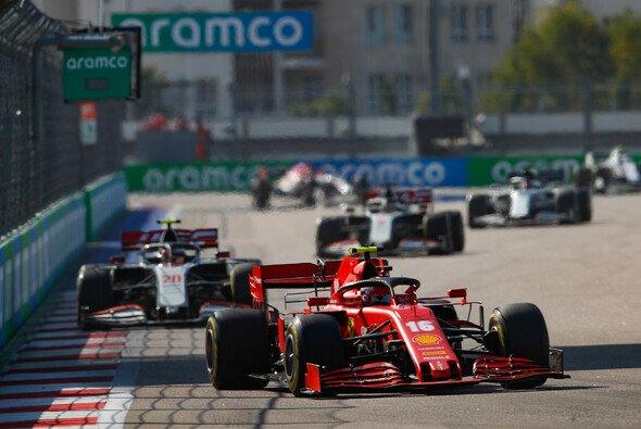 Charles Leclerc fuhr in Russland zum besten Ferrari-Ergebnis seit fünf Rennen - Foto: LAT Images