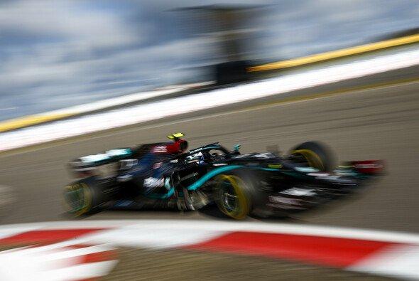 Valtteri Bottas holte sich die Bestzeit im 3. Training auf dem Nürburgring - Foto: LAT Images