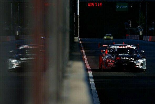 Jamie Green beendete den ersten DTM-Lauf in Zolder vorzeitig - Foto: Audi