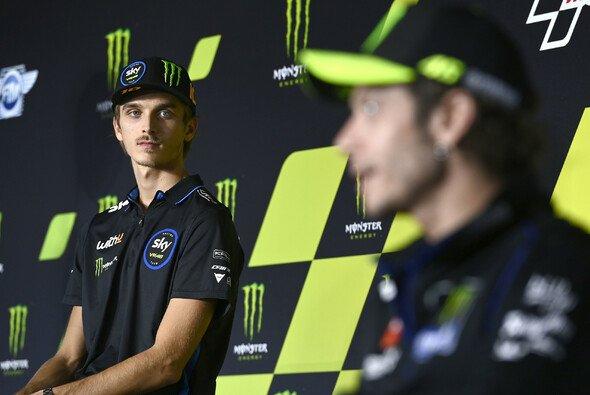 2021 bereits Gegner in der MotoGP? Luca Marini und Valentino Rossi - Foto: LAT Images